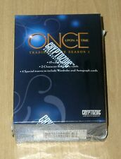 2014 Cryptozoic Once Upon a Time base 51-card sealed box set DISNEY autograph