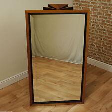 art deco black u0026 burr walnut large wall mirror unique 20u0027s style