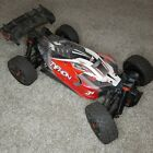 ARRMA Typhon 3s with upgrades ARTR see description