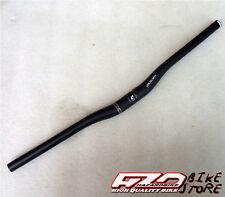 Manubrio/piega ZOOM RISE (rialzata) NERA oversize (31,8mm) per bici MTB/Sport