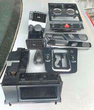 MERCEDES SLK R170 1996 - 2004 COMPLETE INTERIOR CARBON TRIM SET. AUTOMATIC