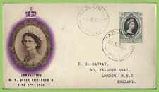 Fiji 1953 QEII Coronation on BPA First Day Cover