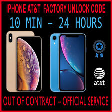 Premium FACTORY UNLOCK SERVICE AT&T CODE ATT for IPhone XS Max XS XR X 8 8+ 7 7+