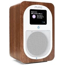 Pure Evoke H3 Bluetooth DAB/DAB+/FM Portable Radio - Walnut