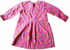 Room Seven Girls Floral Pink Dress Size Eu 110 / US 5