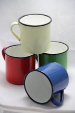 Falcon Enamel Mug Tin Cup Half pint Camping Garden Vintage Style, Retro
