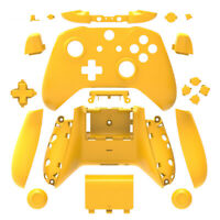 Yellow Xbox One S X Controller Full Custom Replacement Shell Case Cover Mod Kit