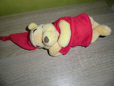 Winnie  Puuh  Bär  Pooh  (  ca 20 cm  ) liegend   DISNEY NICOTOY  STOFFTIER