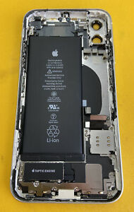 100% Original Apple iPhone 11 White Rear Glass OEM Factory Housing 91% Battery