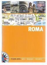 Guía de viaje Roma. Desplegables y planos. Rome travel guide. Drop down.