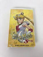 Sailor Moon SuperS Movie - Black Dream Hole (VHS, 2000, Dubbed Edited)TestedWork