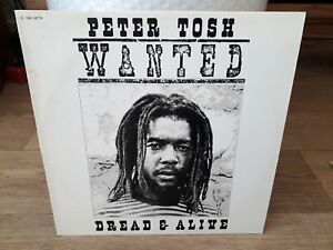 Peter Tosh - Wanted Dread & Alive - LP France 1981