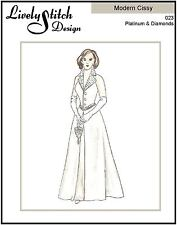 "Platinum & Diamonds / sewing pattern for 21"" Modern Cissy by Madame Alexander"