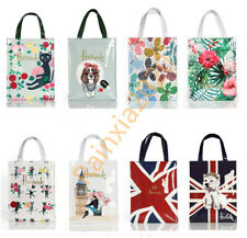 Harrods London Women  PVC Waterproof Shopping Storage Shoulder Bag Handbags