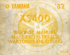 Yamaha XS400 1982 Service Manual 12E-28197-80
