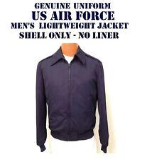 US AIR FORCE MEN'S 36R USAF JACKET NO LINER LIGHTWEIGHT SERVICE DRESS BLUE NNL