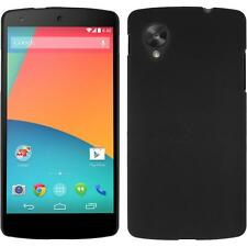 Funda Rígida Google Nexus 5 - goma negro Case