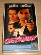 VHS Film - Getaway - Alec Baldwin - Kim Basinger - Action - Videokassette