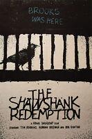 Shawshank Redemption  A3 print art poster retro canvas movie film