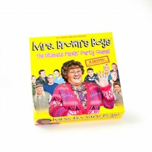 Mrs Brown's Boys The Ultimate Party Board Game - Brand New & Sealed Ideal Gift