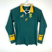 South Africa Springboks Asics Vintage Genuine Rugby Jersey Size Men's Large