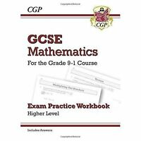 (Good)-GCSE Maths Exam Practice Workbook: Higher - for the Grade 9-1 Course (inc