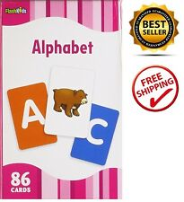 Alphabet Kids Baby Child First Words Letters Learning Reading Ready for School