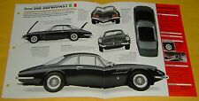 1965 1966 Ferrari 500 Superfast 4962cc V12 400hp 6 Weber Carbs Info/Spec/photo