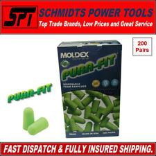 MOLDEX 6800 FOAM EARPLUGS PURA-FIT DISPOSABLE 33dB EAR PLUGS - 1 Box = 200 Pairs