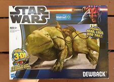 Star Wars Hasbro Walmart Exclusive DEWBACK 3-D!