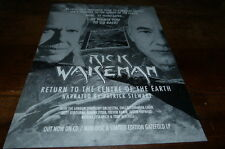 RICK WAKEMAN - Publicité de magazine / Advert !!! RETURN TO THE CENTRE OF EARTH