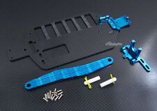 Graphite Main Chassis for Associated 4WD RC18B RC18R RC18T RC 18B 18t 18r