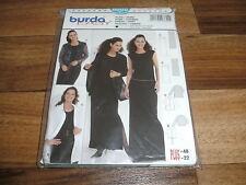 BURDA-PLUS+EASY Schnittmuster 8600           2x  KLEID + 2x  BLUSE         36-48