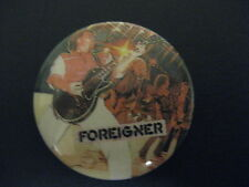 Foreigner-Band-Music Rock-Pin Badge Button-80's Vintage-Rare