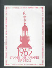 "PARIS (IX°) Buvard GRAND MAGASIN ""AU PRINTEMPS"" Centenaire 1865-1965"