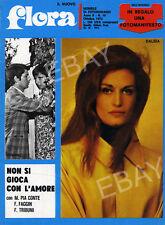 """Magazine Espagnol """"Flora"""" avec Dalida en couverture très rare"""