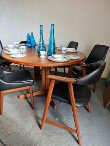 Mid Century Danish Teak Mobler Dining Table