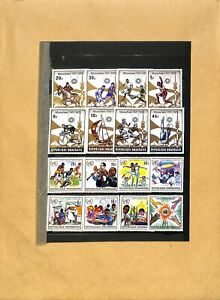 [OP2355] Rwanda lot of stamps very fine MNH on 8 pages