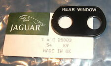 JAGUAR DAIMLER HEATED REAR WINDOW ESCUTCHEON MK 2 S-TYPE 420 MK 10 DS420 C25883