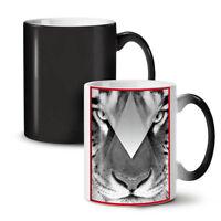 Tiger Eyes NEW Colour Changing Tea Coffee Mug 11 oz | Wellcoda