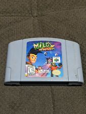 Milo's Astro Lanes Nintendo 64 N64 Authentic REAL works