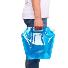 5L  Collapsible  Emergency Water Storage Container Holding Carrier Bag Blue SR