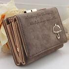 New Women Fashion Leather Wallet Button Clutch Purse Lady Short Handbag Bag