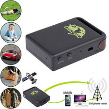 Tracker temps réel GPS TK102B - Micro intégré dispositif reperage SMS SOS GPRS