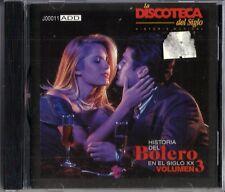 Historia Del Bolero En El Siglo XX  Volume 3 Latin Music CD New