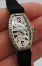 VINTAGE LADIES ACME WHITE GOLD FILLED HAND-WINDING WATCH 101264-20