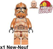 Lego Figurine Minifig Star Wars Geonosis Clone Trooper 2 sw606 75089 NEUF