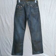 Energy Loose Morris Bootcut Men's Jeans Size W 27  L 34 Button Fly