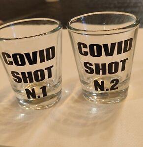 Funny shot glasses set of 2