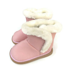 LAST pink reduced ! Toddler Leather Boots  sz 51/2 (14cm) girls baby child kids